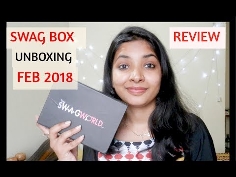 THE SWAG WORLD BOX FEB 2018   UNBOXING & REVIEW   5 LUXURY JEWELRY PIECES[CLASSIC BOX]