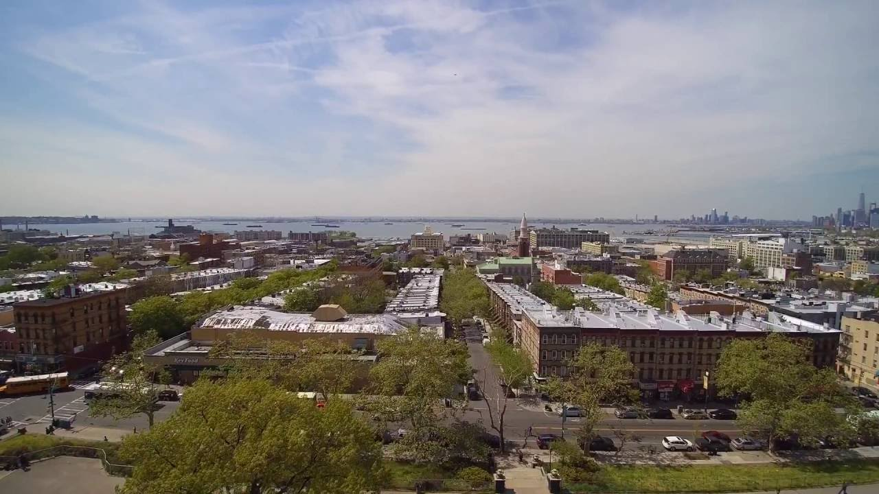 sunset park brooklyn drone youtube. Black Bedroom Furniture Sets. Home Design Ideas