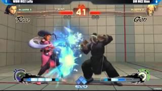 EVO2013 SSF4AE WOM MCZ Luffy vs DM MCZ Xian