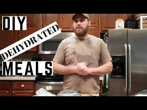 DIY Dehydrated Meals, quick and easy