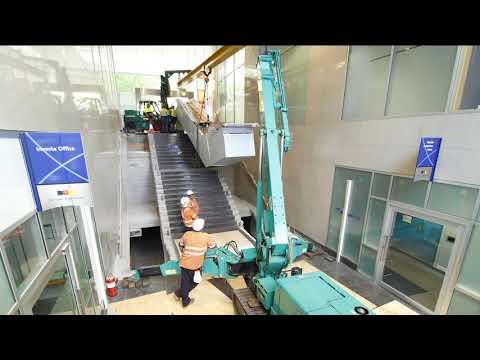 201 Kent Street - New Escalator Time Lapse