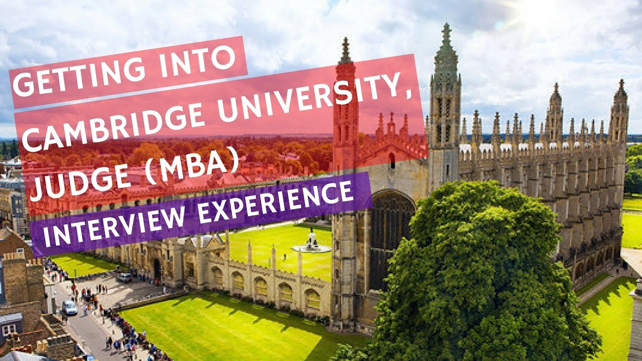 cambridge university mba essays