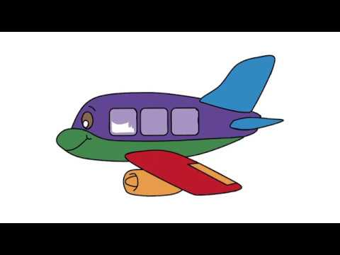 Uçak Boyama Uçak Boyama Videosu Youtube