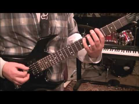 How to play Death Before Dishonor by Five Finger Death Punch on guitar