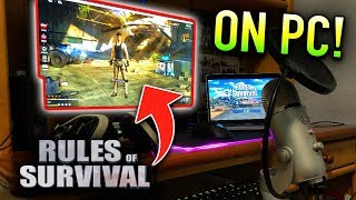 RULES OF SURVIVAL PC GAMEPLAY! (Rules of Survival on PC)