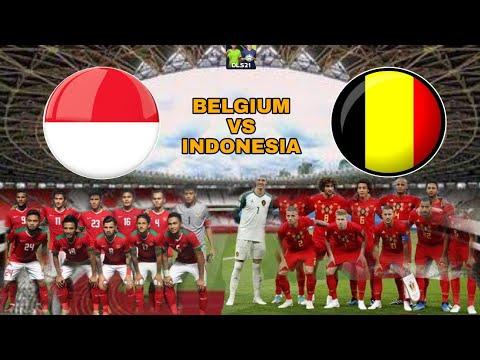 Belgium VS Indonesia | DLS 21 | Dream League Soccer 2021 - Android Gameplay.