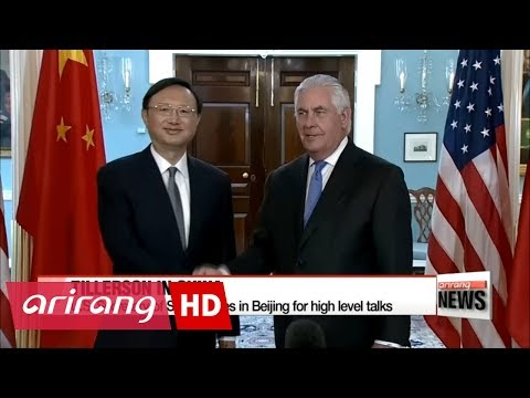 Tillerson arrives in China with North Korea high on the agenda