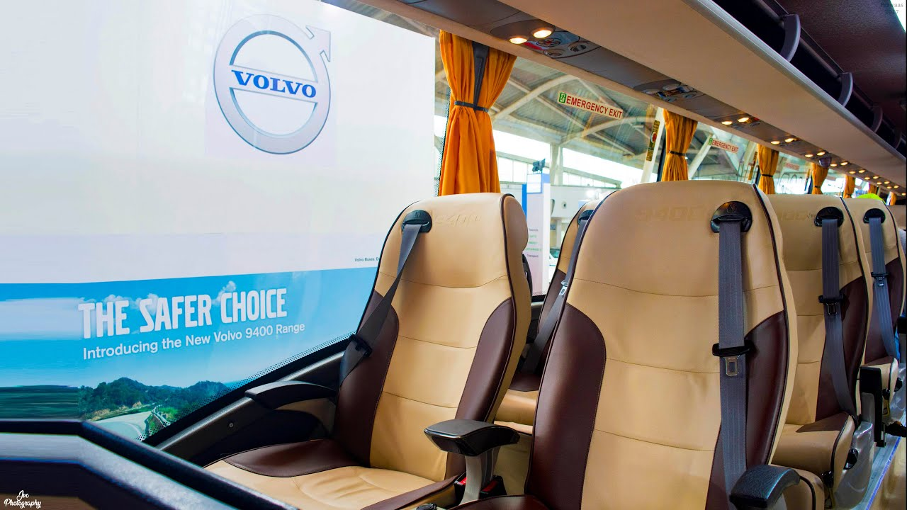 Volvo luxury bus interior - All New Luxury Volvo 9400 B11r Bsiv At Prawaas 2017