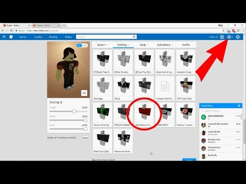 ROBLOX - How to get free clothes! [Works in 2020] *very outdated*