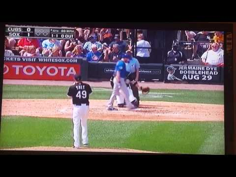Chris Sale Slider vs Cubs lol