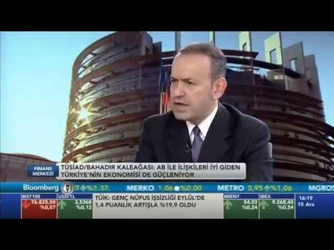 TÜSİAD Genel Sekreteri Dr. Bahadır Kaleağası Finans Merkezi Programı'na konuk oldu