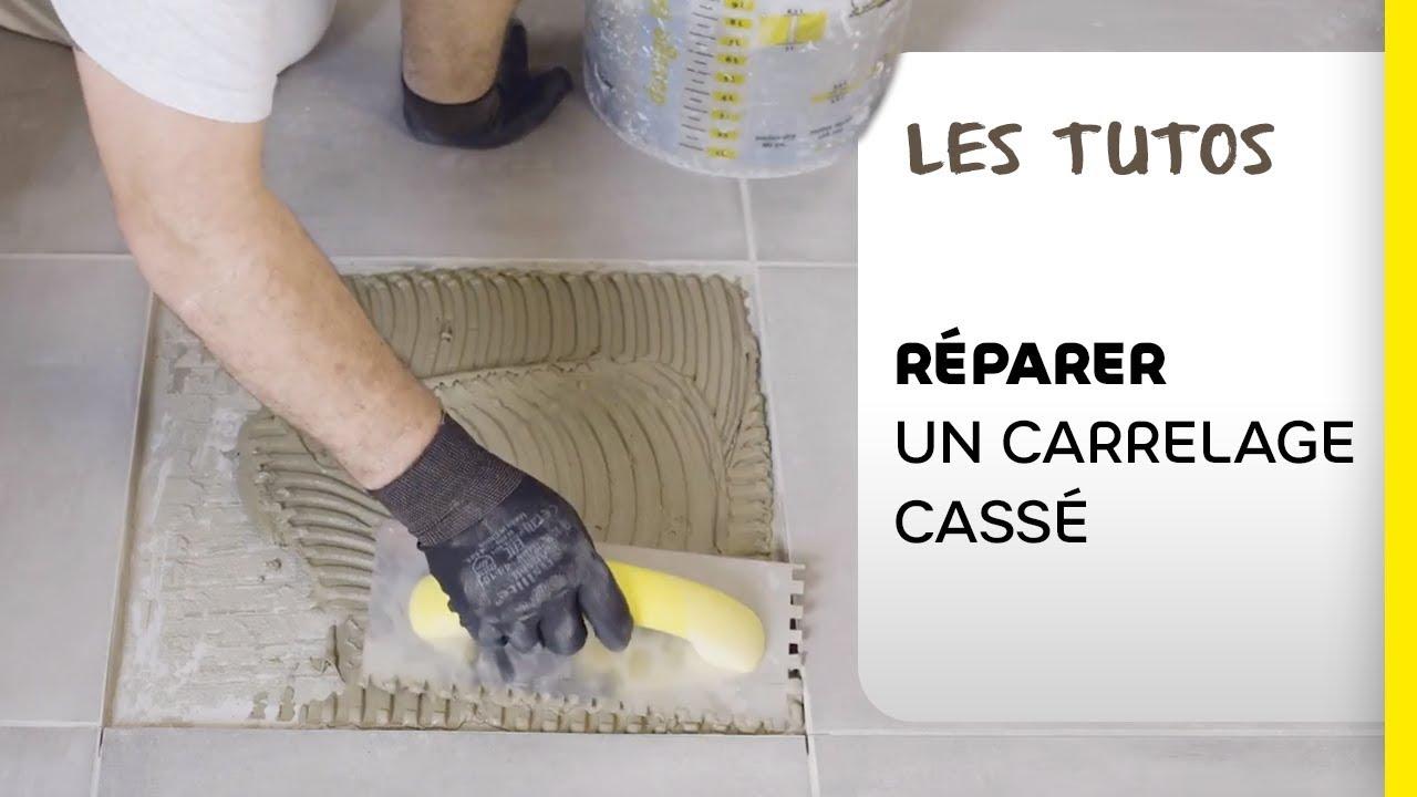 Remplacer Un Carreau De Carrelage comment remplacer un élément de carrelage cassé ? les tutos weber