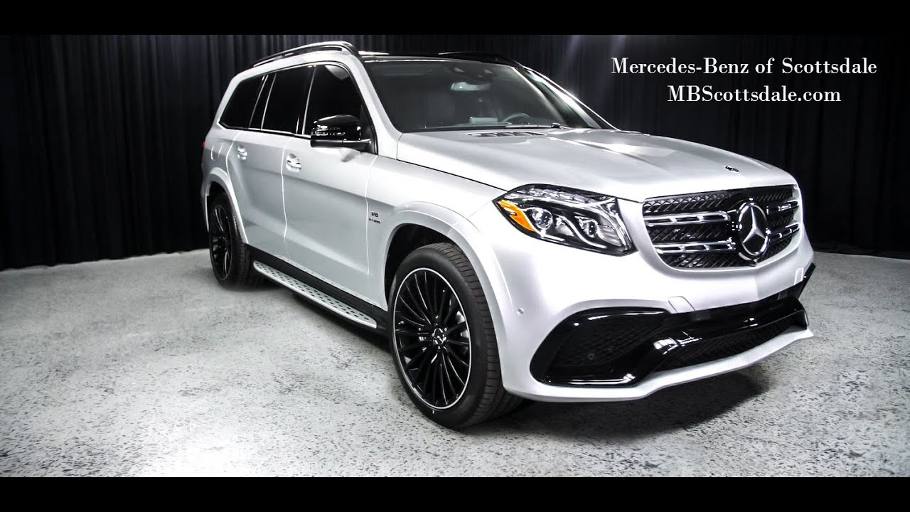 A Unique Color 2018 Mercedes Benz Gls 63 Amg Suv From Mercedes