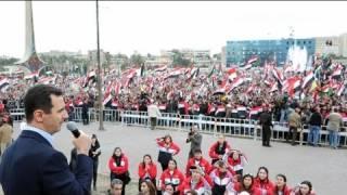 Esad Şam'da gövde gösterisi yaptı