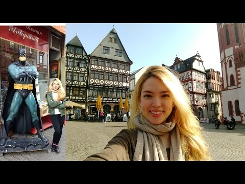 Frankfurt Travel Vlog!