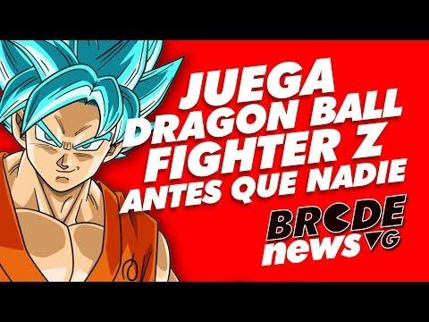 Juega Dragon Ball Fighter Z antes que nadie