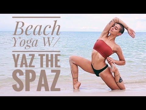Beach Yoga Flow w/ Yaz the Spaz