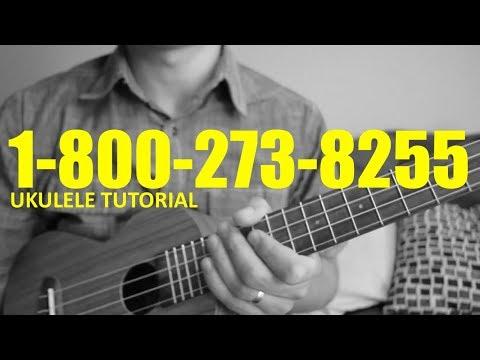 Logic - 1-800-273-8255 - Ukulele Tutorial - Chords - How To Play