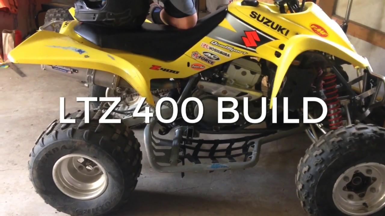 Suzuki Ltz400 Rebuild Start To Finish By Jetsman66