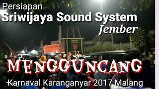 PECAH!! Dahsyat Sriwijaya Sound System Di Karnaval Karanganyar 2017 Malang