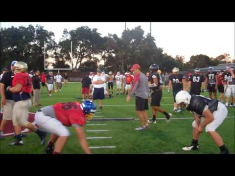 Stanford football camp: Offensive line vs. Defensive Line