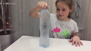 Быстрое превращение воды в лёд