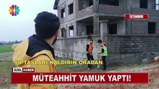 Müteahhit Yamuk Yaptı! Yamuk Binalar Yapan Mühendis