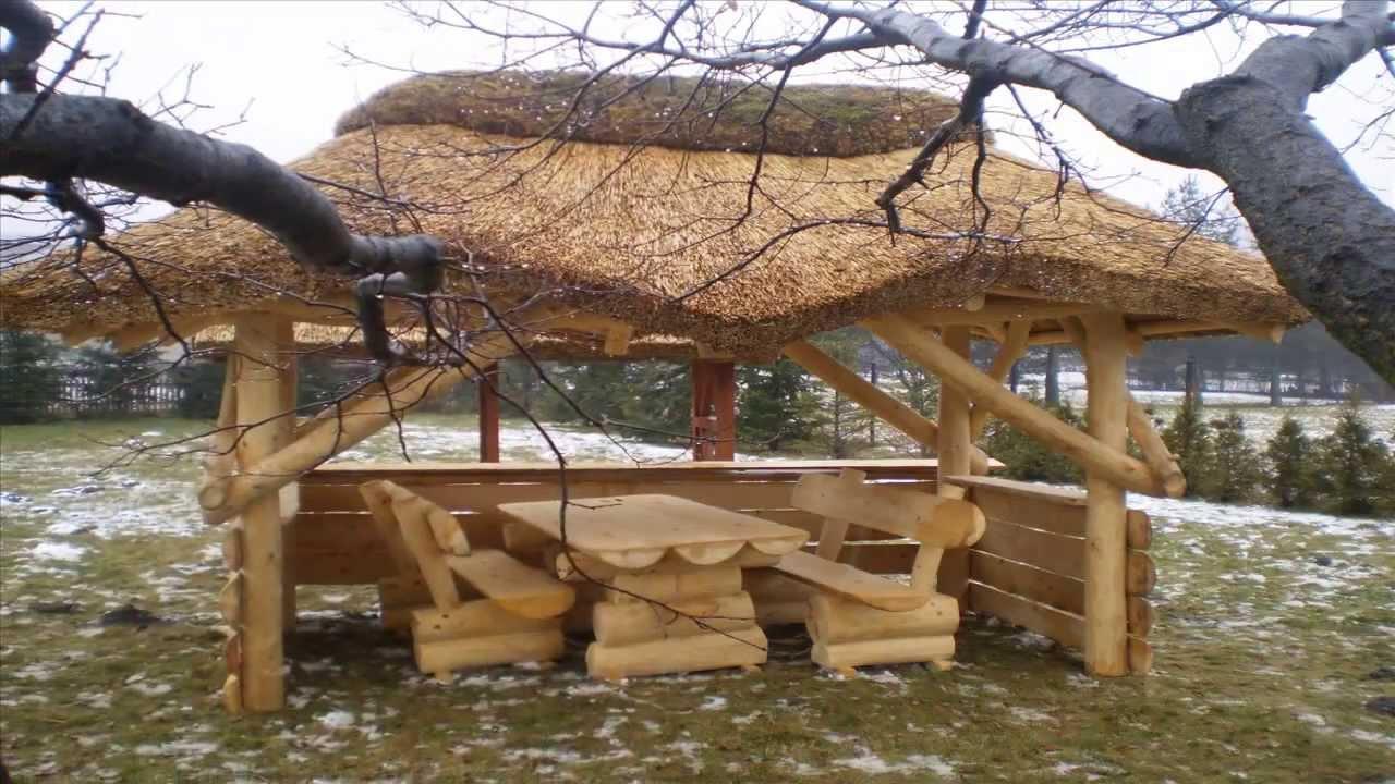 Meble Ogrodowe Z Bali Drewnianych Ceny :  , huśtawka z bala, meble ogrodowe z bali PRODUCENT  YouTube