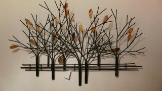 How To Make Wall Hanging Craft Tree From Waste