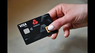 The Fingerprint Debit Card - BBC Click