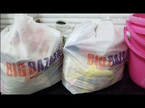 Monthly Grocery Shopping | Big Bazaar Haul Video | Grocery