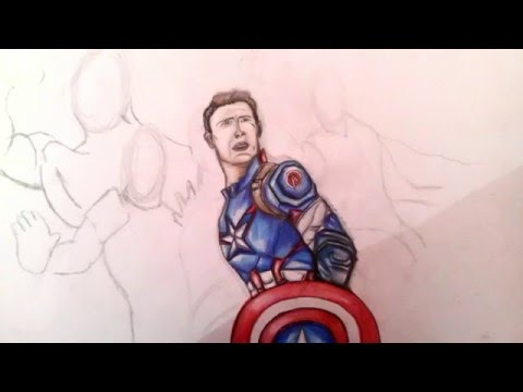 How To Draw The Avengers Step By Step Part 1 Captain America