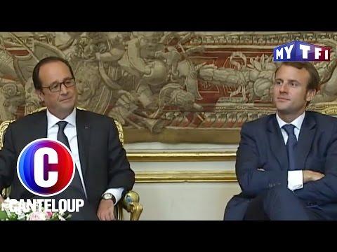 Macron le fils caché de Hollande ? - C'est Canteloup du 19 mai 2017