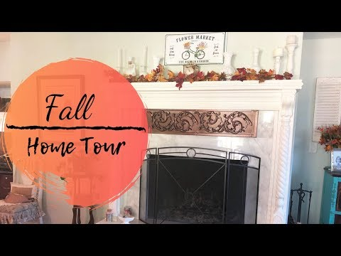 FALL HOME TOUR 2019   TOURING MY MOMS HOUSE   ENTIRE HOUSE TOUR