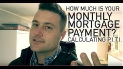 How much is your monthly mortgage payment when you buy a home ?