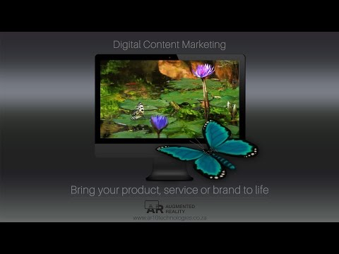 DIGITAL CONTENT MARKETING AUGMENTED REALITY