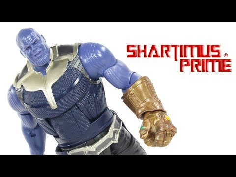 Marvel Legends Thanos BAF Avengers Infinity War Movie Build A Figure Hasbro Action Figure Toy Review