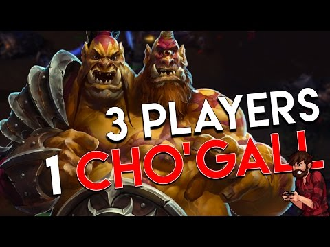 Heroes of the Storm | 3 HEADED INSANITY | Cho'Gall Gameplay ft. Jesse Cox and Sinvicta