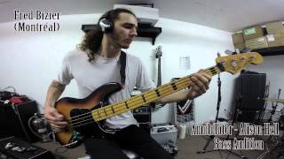 Fred Bizier - Annihilator - Alison Hell Bass Audition