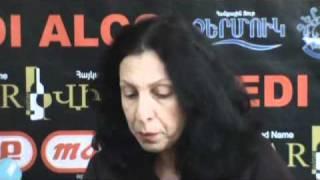 Lilit Pipoyan and Tigran Hekekyan press conference