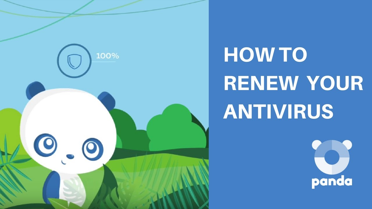 How to Renew your Antivirus - Panda Security