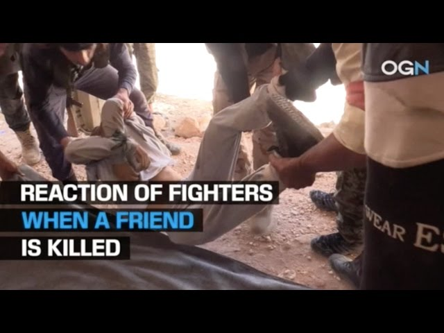 OGN -  Reaction of Fighters When a Friend is Killed