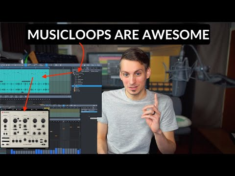 Musicloops in Studio One - A powerful library of ideas