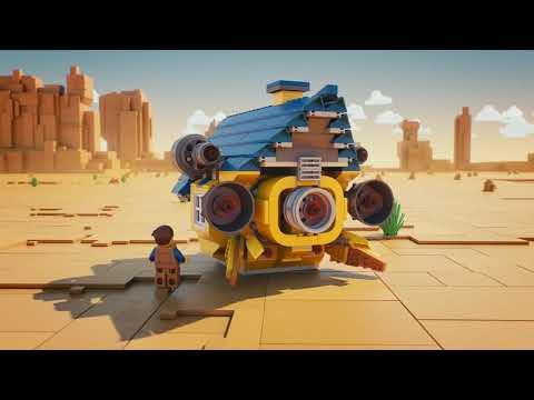 The LEGO Movie 2 70831 - Дом мечты / Спасательная ракета Эммета!