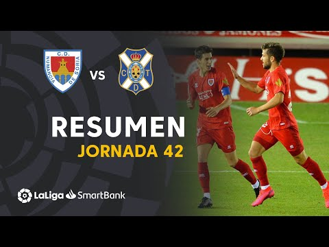 Numancia Tenerife Goals And Highlights
