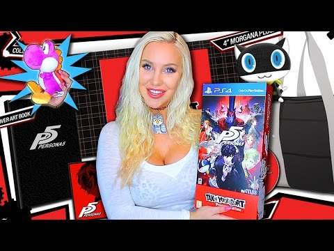 Persona 5 Take Your Heart Premium Edition Unboxing & Review (+ New Yoshi!)