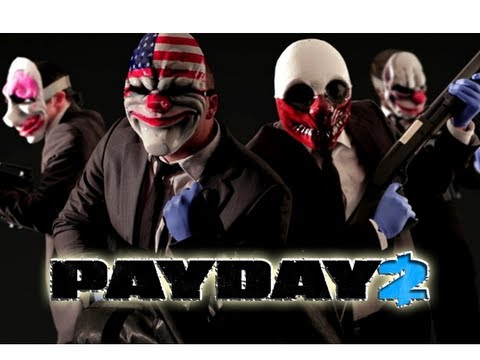 Stealth Ninjas - Pay Day 2 - With Blitzwinger & Gamer (Ep. 10)