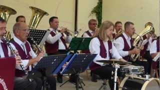 Hoch Heidecksburg (Rudolf Herzer) - Marsch - Lauchaer Musikanten - Brühler Garten Erfurt 2012