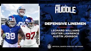 Leonard Williams, Dexter Lawrence & Austin Johnson Talk Goals for 2021 Season | New York Giants