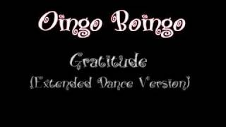 Watch Oingo Boingo Gratitude video